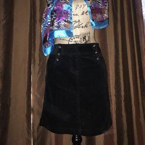 White House Black Market Corduroy Mini Skirt.